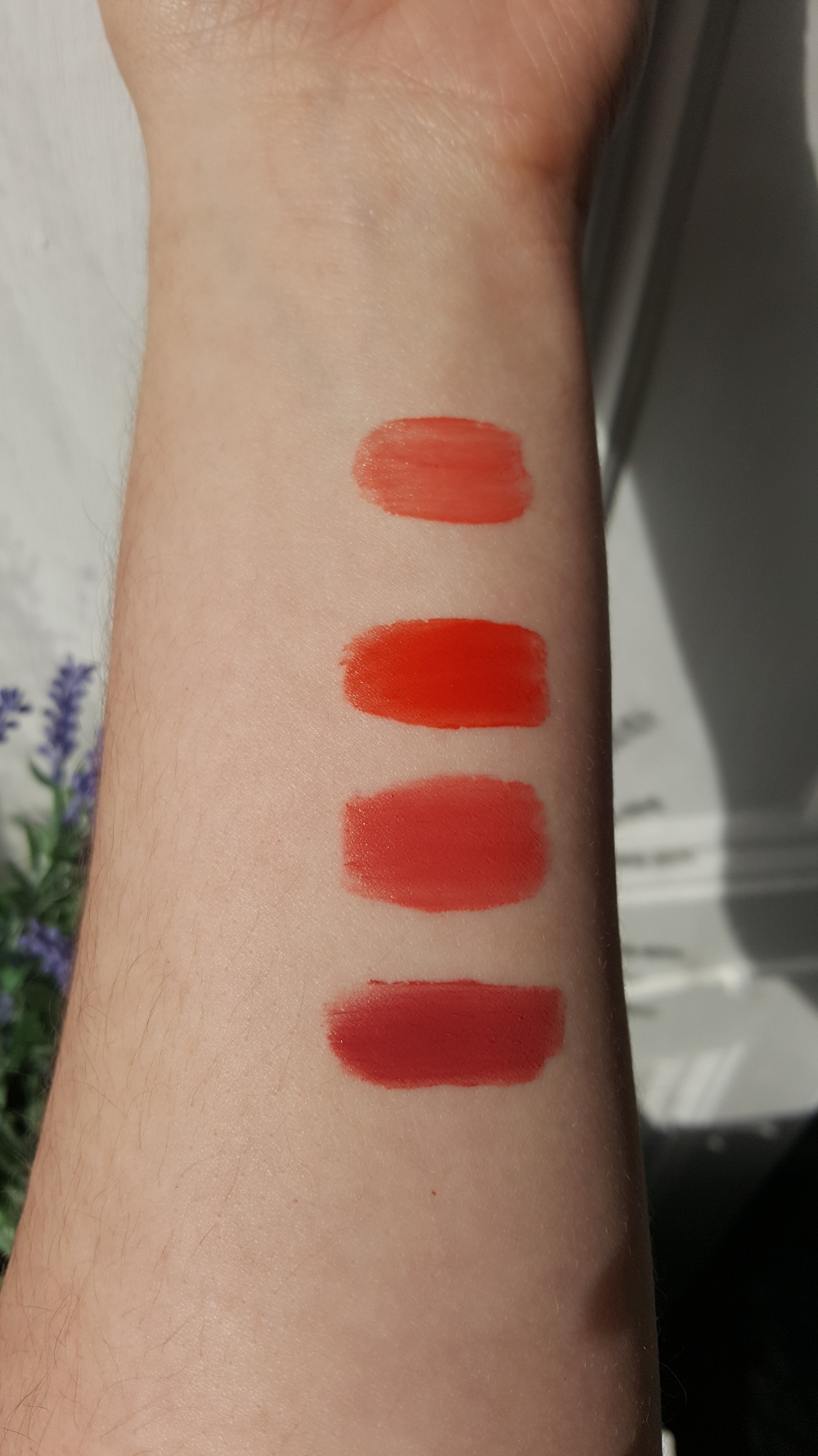 Bourjois Rouge Edition Swatches 2
