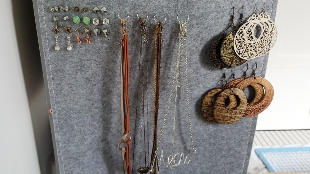 Jewellery Storage Ikea D.I.Y Details 2