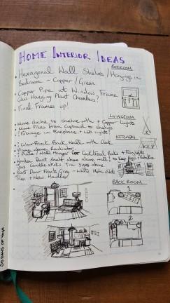 Leuchtturm1917 Home interiors Collection bullet Journal