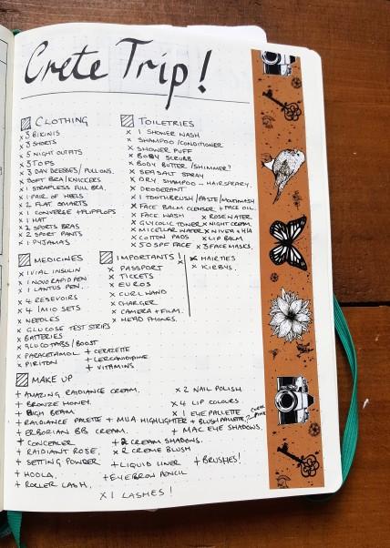 Leuchtturm1917 Travel planning Collection bullet Journal